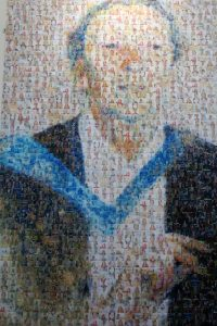 Collage of Ishbal Campbell created using photos of Southampton Universities STEM women