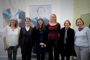 Members of WiSET Steering group and Professor Andrea Russell